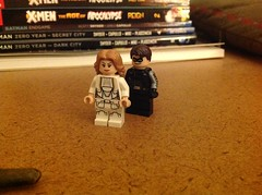 Agent 13 & Bucky (Total BrickMaster) Tags: marvel lego purist agent 13 bucky winter soldier civil war sharon carter