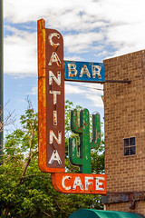 Cantina Cafe (Eridony) Tags: denver denvercounty colorado downtown cbd centralbusinessdistrict lodo lowerdowntown sign neonsign