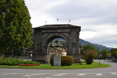 Arco di Augusto (norm76) Tags: europa europe italia italy val aosta valdaosta