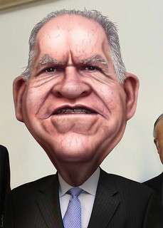 John Brennan - Caricature, From ImagesAttr