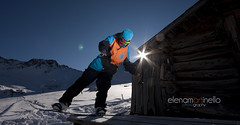 Dolomiti freestyle (Elena Martinello) Tags: sun snow freestyle hut snowboard dolomiti gettyimagesitalyq1 gettyimagesitalyq2 gettyimagesitalyq3