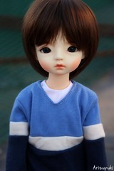 Eiri has a new face-up! (Arisuyuki) Tags: boy asian doll body innocent makeup bjd dollfie eiri spiritdoll faceup dollmore yosd babylamb eirien babylambmiadoll miasbabydollaga dollmoreaga arisuyuki