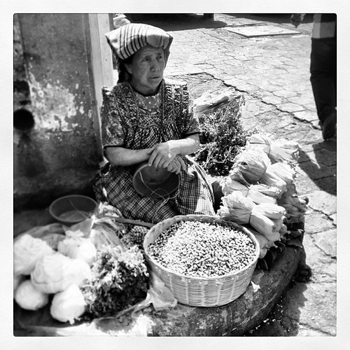 Mercado de Las Flores #guatemala #quetzaltenago #xela #market #mercado #bw