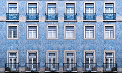 blue-tiles_resize (Olga Antipenko and Yury Gubin) Tags: wood old blue white house abstract building geometric home portugal window glass floral wall architecture facade tile ceramic ancient ceramics pattern exterior expression mosaic lisbon background balcony traditional decoration culture structure symmetry architectural retro porto blank styles ornate shape portuguese textured rectangular revival tiled tinglazed