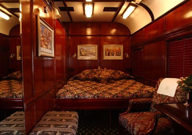 Rovos Rail from the Luxury Train Club - Suite