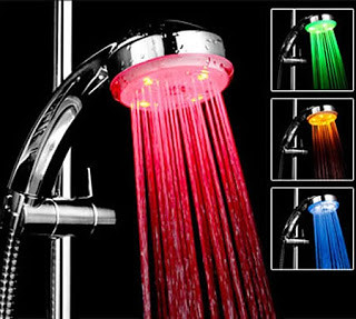Colour Phasing Shower Light
