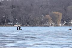 Pewaukee Lake Fishing Pewaukee Lake Hard Water Fishing Celtic Graphics Tags Winter Lake Ice