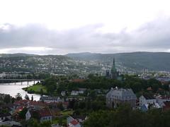 View Towards Nidarosdomen (A.Nilssen Photography) Tags: church view trondheim kristiansten festning nidarosdomen kirke nidaros