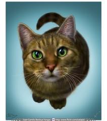 Ilustración Digital / Photoshop / Gato Simón (Juan Camilo Bedoya Vargas) Tags: cat photoshop painting digitalpainting gato neko ilustración digitalillustration ilustracióndigital