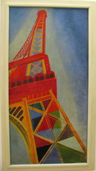 Torre Eiffel por Robert Delaunay (Apuntes y Viajes) Tags: francia parís centropompidou