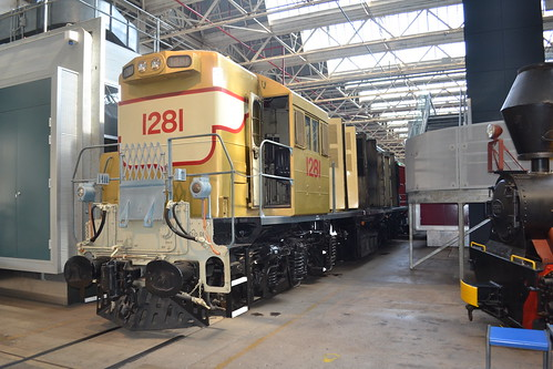 1281 at Ipswich Workshops