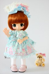 ~ Loli Sukie ~ (AninhaDias) Tags: bear japan mouth duck outfit doll pretty handmade juice decoration dream mini lolita tiny loli bjd resin resina boneca kiki rement amigurumi sax angelic rare lts urso sukie mueca poupe kinoko