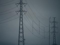 (miemo) Tags: city winter abstract lines finland helsinki europe olympus minimal powerlines minimalism pylons omd hanasaari em5 panasonic100300mm
