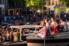 Prinsengracht Concert, Amsterdam (CLF345) Tags: amsterdam prinsengrachtcanal prinsengrachtconcert