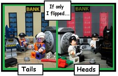 If only I flipped... (Julius No) Tags: coin lego flip heads only batman tails flipped twoface