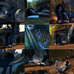 Nerissa collage (Killerwing) Tags: nerissa mermaid merfolk mystara realmofmystara