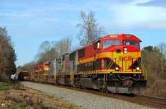 NS'S Alabama Division AGS South District (Trainfan1996) Tags: kcs 3937 sd70mac