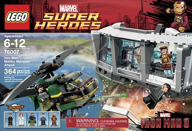 LEGO Super Heroes系列預計2013年推出鋼鐵人3作品