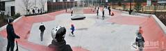 Skatepark des Fauvelles (Courbevoie - 92)