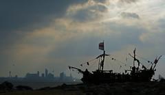 Black Pearl And The Liverpool Skyline (ARG_Flickr) Tags: newbrighton blackpearl