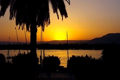 Sunset from the Terrace (eLaReF) Tags: luxor winterpalace oldwinterpalace owp