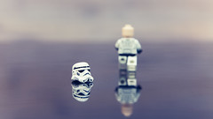 Going Away (Dima Shapira) Tags: glass mirror starwars bokeh go away stormtrooper 365 outie project365