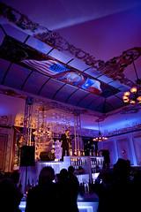 Blue Lighting - Stage Lighting - The Driskill Hotel