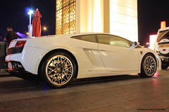 Gallardo ! (nb-driver Photography) Tags: money mall photography dubai italia uae nb arab driver abu dhabi lamborghini coupe gallardo qatar supercars lp560
