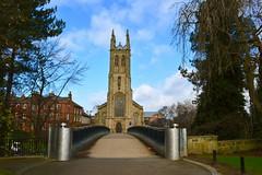 St. Alkmund's (Stuart Lilley Photography) Tags: bridge building church architecture buildings nikon derbyshire churches derby d3200