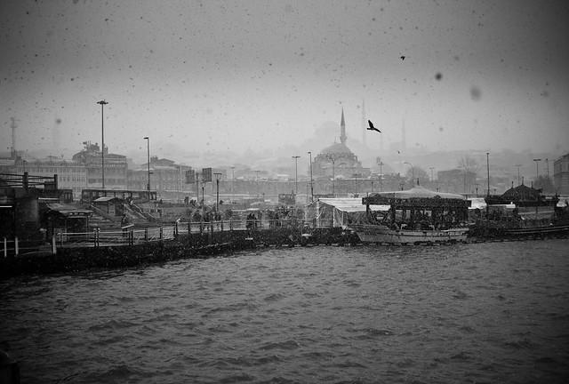 Bosporus whiteout