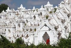 Immersing Into White (AnyMotion) Tags: travel white architecture temple reisen southeastasia burma buddhist monk architektur myanmar birma tempel pagode mönch mingun birmanie weis anymotion 2013 buddhistisch hsinbyumepagoda canoneos5dmarkii 5d2 hsinbyumepagode myatheindanpagoda