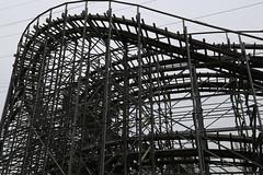 Old Wooden Roller Coaster (Fat Bastard_) Tags: park kentucky louisville