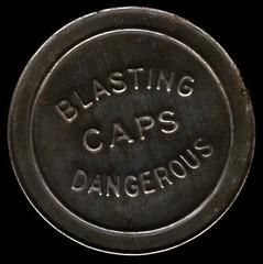 Blasting caps dangerous