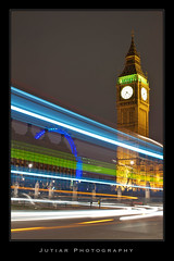London In Motion (Jutiar) Tags: nightphotography london westminster nikon bigben fullframe d700 borderfx nikond700 jutiarsalman jutiarphotography