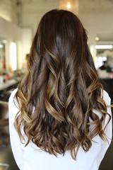 Long wavy hair (FYhairspa) Tags: longhair ombre brownhair wavyhair newhairstyle brunettehair ombrehair