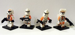Clonez! (-{Peppersalt}-) Tags: old shop army starwars republic arms lego little troopers clones clonewars peppersalt brickarms brickforge