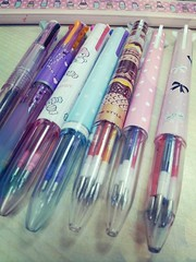 my personalised pens ♥ (♥ A.S.P.A.R.I.N.A ♥) Tags: stationeries hitecccoleto unistylefit flickrandroidapp:filter=sydney