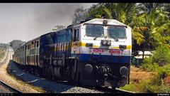 KSK Klose UP! (Pramath S.B) Tags: indianrailways kjm wdp4b