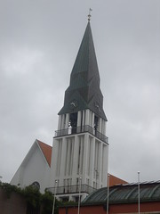 Le clocher de l'glise de Molde. Norvge (m.lebel) Tags: church norway belltower glise molde clocher norvge