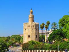 Torre del Oro, Sevilla (twiga_swala) Tags: tower gold sevilla spain arquitectura guadalquivir torre seville andalucia spanish arab moorish andalusia islamic oro architectura almohade
