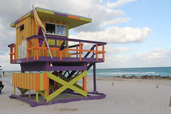 Lifeguard Stand - South Beach - Miami Beach, Fl (twiga_swala) Tags: ocean life rescue usa tower art beach station stand florida miami south sandy watch guard playa landmark lifeguard artdeco fl miamibeach deco iconic southbeach sobe oceanrescue
