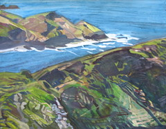 """Cornwall Cliffs (61 x 50) • <a style=""""font-size:0.8em;"""" href=""""http://www.flickr.com/photos/93620332@N07/8534127317/"""" target=""""_blank"""">View on Flickr</a>"""