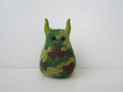 No.757/front (canacol) Tags: wool army handmade s felt  guilty               stuffy