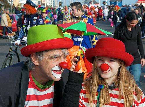 Circus circus, Clowns international