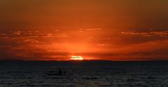 End of the Heat Wave (wolfcat_aus) Tags: ocean sunset beach nikon sigma melbourne portphillipbay 18200mm d7000