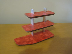 Mini Midcentury Modern Shelves (Mad for Mod) Tags: modern miniature mod midcentury moderrndollhouse