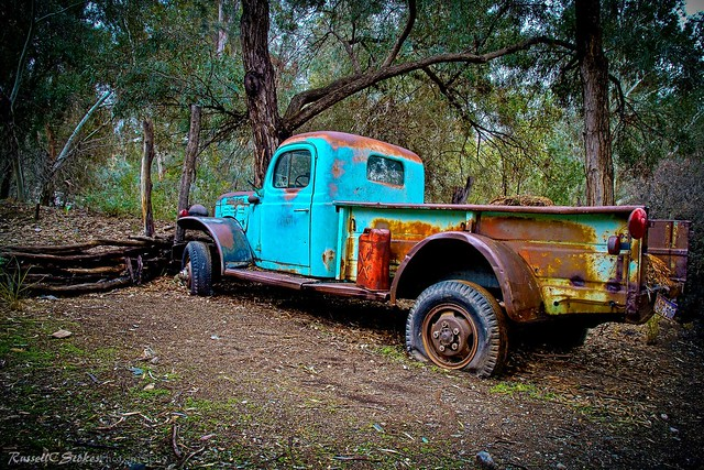 arizona color truck landscape superior pickup arboretum dodge oldtruck hdr relic boycethompson powerwagon schooksonruss russellcstokes