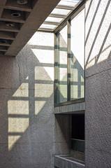 Emerson Shadow Slide (ken mccown) Tags: newyork architecture concrete modernism syracuse peicobbfreedpartners emersonmuseumofart