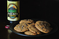 Black Butte Porter cookies (PaperSt.SoapCo.) Tags: deschutesbrewery blackbutteporter chocolatechipcookies beercookiesyesplease