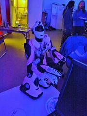 Hacked Humanoid Robot.